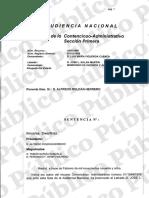 Sentencia Audiencia Nacional Marcaagua