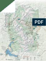 Rocky Mountains Parkmap