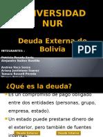Deuda Extera en Bolivia