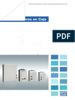 WEG Arrancadores en Caja 50025828 Catalogo Espanol