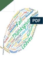fall word cloud - aaron gibson pdf