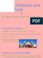 chilean street foods 2fdrinks and festivals project