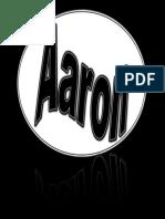 name art - aaron gibson
