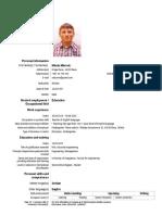 CV Nikola Mitrovic