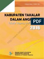 Kabupaten Takalar Dalam Angka 2016