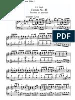 BWV41 - Jesu, nun sei gepreiset