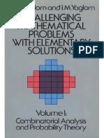 A. M. Yaglom, I. M. Yaglom - Challenging Problems (Volume I) - Dover Publications - 240p - REPETIDO.pdf