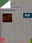 Blumenberg Hans Descripcion del ser humano.pdf