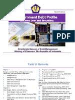 Indonesia Government Debt Profile Per May 2010 English Edition