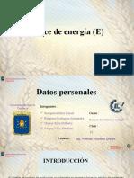 Balance de Energía- EXPOSICIÓN
