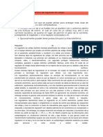 Características Generales Del Regulador de Voltaje