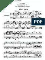 BWV43 - Gott fähret auf mit Jauchzen