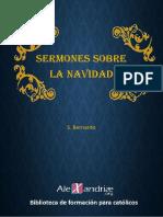 Sermones Sobre La Navidad - S. Bernardo Abad