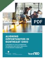 Aligning opportunities in Northeast Ohio