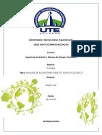 Consulta Ecologia de Analisis de Ecosistema Habitat