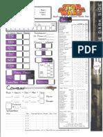D20 - Star Wars - Darkside Character Sheet.pdf