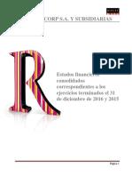 Estados Financieros Ripley Corp Dic 16