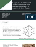 Atenuacion de la fosfolipasa C en la ruta del inositol fosfato