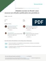 A Área Das Habilidades Sociais No Brasil Uma Análise Dos Estudos Publicados Em Periódicos