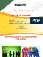 GESTIÒN DE PERSONAL