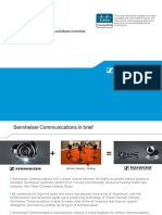 Cisco Compatibility - Sennheiser Communications Solutions Overview