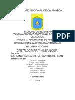 Introducción a La Petrología y Minerales Foloneanos
