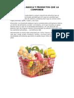 Canasta Basica y Productos Que La Componen