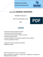 2 - Lesões Celulares Reversíveis