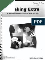 Speaking Extra