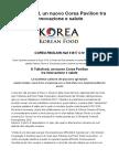 A Tuttofood, Un Nuovo Corea Pavilion Tra Innovazione e Salute