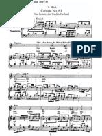 BWV61 - Nun komm, der Heiden Heiland [I]