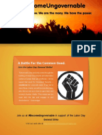 Labor Day Strike Flyer-Long