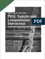 Peru Tradicion Textil y Competitividad Internacional