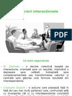 Negocieri interacționale