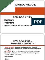 Medii de Cultura