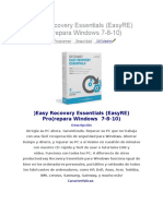 Easy Recovery Essentials (EasyRE) Pro(Repara Windows 7-8-10)