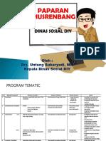 Dinas Sosial -Forum SKPD -4april2017