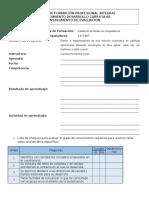 Instrumentos de Evaluacion Cuestionario