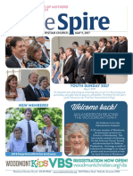 The Spire Newsletter, May 9, 2017