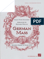 Schubert - German Mass