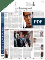 Le Soir, Emmanuel Macron, «le prozac de la France» (10.05.2017)