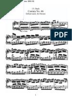 BWV66 - Erfreut euch, ihr Herzen
