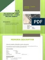 INFRAESTRUCTURA DE TRATAMIENTO DE AGUA EN CAPTACION CANAL.pptx