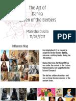Dahlia, Queen of the Berbers Art Of