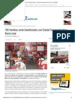 700 Familias Serán Beneficiadas Con Ciudad Socioproductiva María León – El Aragüeño