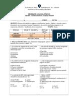 Prueba 2 m Biologia Estructura Adn u1 A