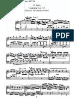 BWV72 - Alles nur nach Gottes Willen