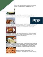 Comidas y Bebidas Tipicas de Guatemala