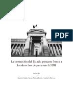 La protección del Estado peruano frente a los derechos de personas LGTBI