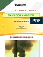 Semana 3 ( Problemas Ecológicos )